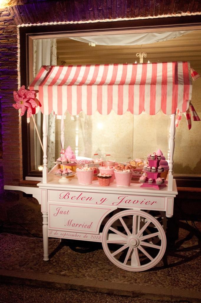 buffet candy bar para bodas