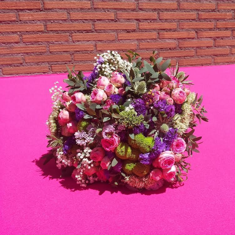 bouquet de novia romantico